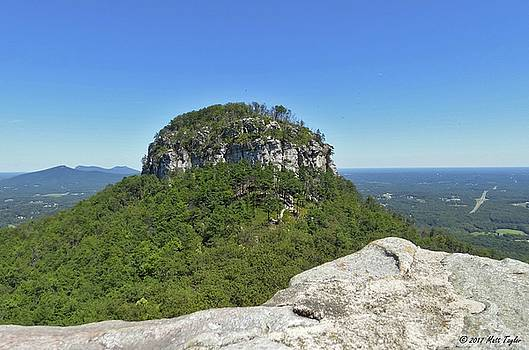 Fair Weather At Pilot Mountain by Matt Taylor