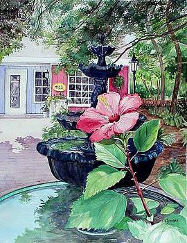 Fairhope Fountain by Cynara Shelton