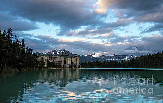Fairmont Hotel Lake Louise by Mike Reid