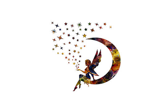 Fairy and Stars by Michael Colgate