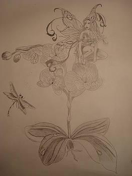 Fairy Blossom by Tonya Hoffe