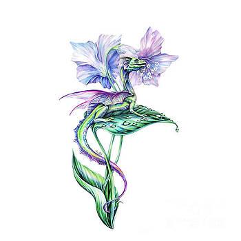 Fairy Dragon by Anne Koivumaki - Fine Art Anne