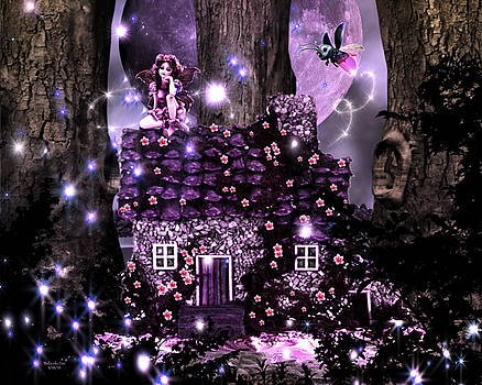 Fairy Forest Firefly Lane by Artful Oasis