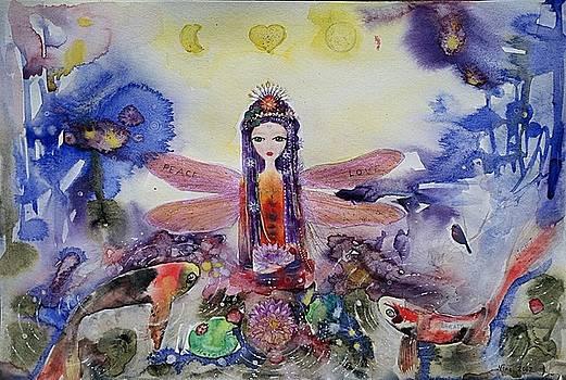 Fairy Garden  by Nino Gabashvili