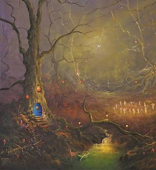 Fairy House From The Magical Realm by Ray Gilronan