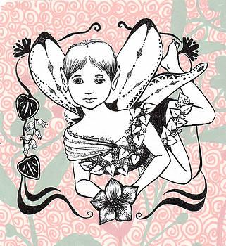 Monique Montney - Fairy in Flight