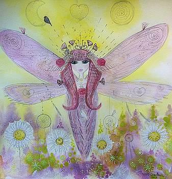 Fairy messenger  by Nino Gabashvili