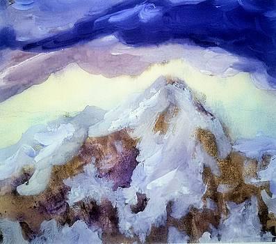 Fairy Mountain by Madina Kanunova