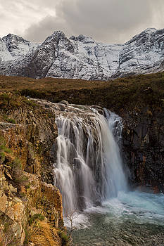 Fairy Pools Waterfall, Isle of Skye by Derek Beattie
