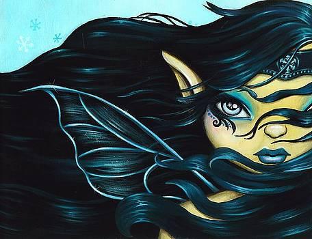 Fairy Snowflake by Elaina  Wagner
