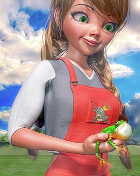 Fairy Tale Frog Custom  by Betsy Knapp
