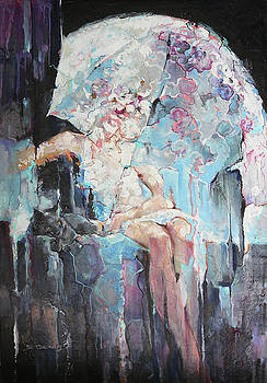 Fairy Tales Of A Lunar Rain by Denis Eutikhiev