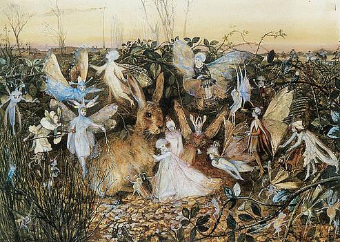 John Anster Fitzgerald - Fairy Twilight