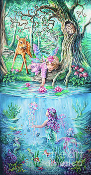 Fairy tale by Anne Koivumaki - Fine Art Anne