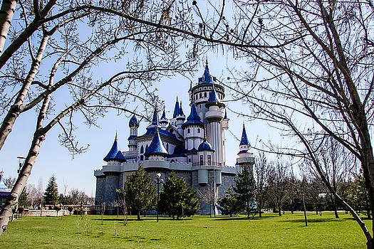 Fairytale castle in Sazova Park, Eskisehir by Freepassenger By Ozzy CG