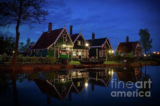 Fairytale Evening in Zaanse Schans, Holland by Sinisa CIGLENECKI