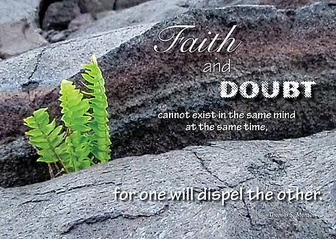 Faith and  Doubt by Denise Bird