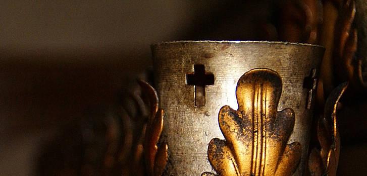 Linda Shafer - Faith Candle