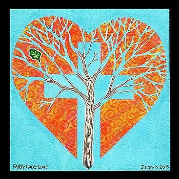 Jim Harris - Faith Hope Love Tree
