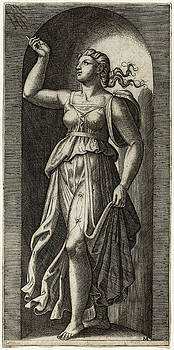 Marcantonio Raimondi - Faith