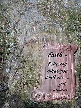 Faith Scroll by Eloise Schneider