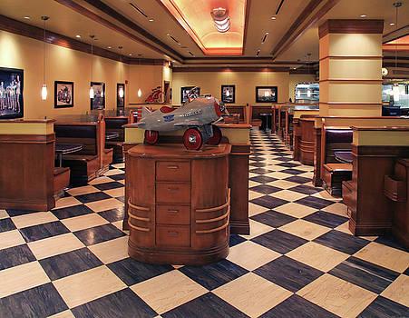 Falcon Diner Interior by Christopher McKenzie