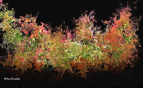 Fall Abstract One by Harry Dusenberg