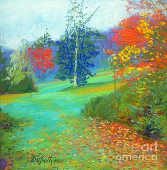 Fall across the field  by Rae  Smith PAC