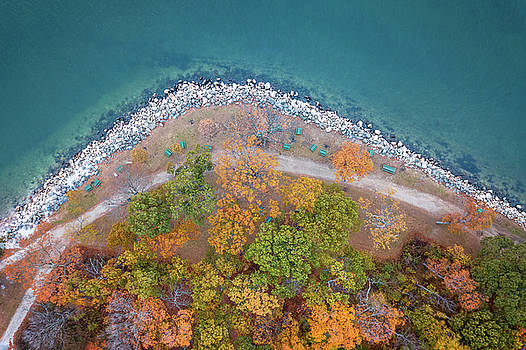 Lorrie Joaus - Fall aerial view