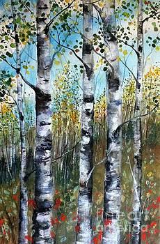 Fall Along the Ridge by Diane Splinter
