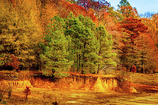 Fall At Chickasaw Hill by Barry Jones