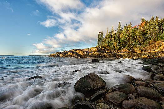 Fall At Little Hunters Beach by Dennis Kowalewski