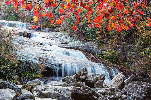 Fall at Lower Falls by Jenn Deane