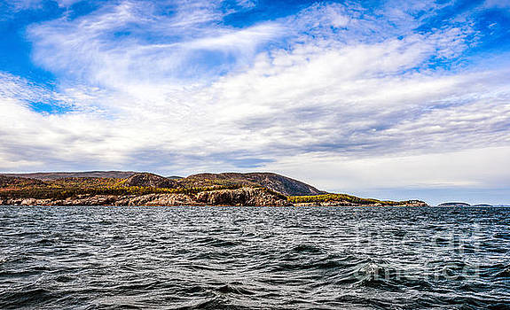 Fall at Somes Sound by Anthony Baatz