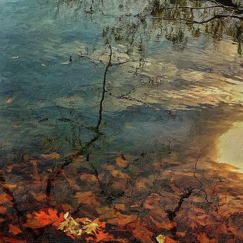 Fall at the Lake by Winnie Chrzanowski