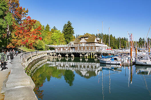 Ross G Strachan - Fall at the Rowing Club in Vancouver