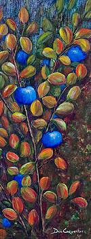 Dee Carpenter - Fall Blueberries
