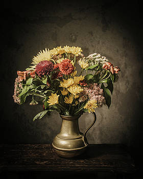 Fall Bouquet by Jerri Moon Cantone