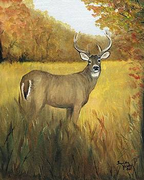 Fall Buck by Charlotte Yealey