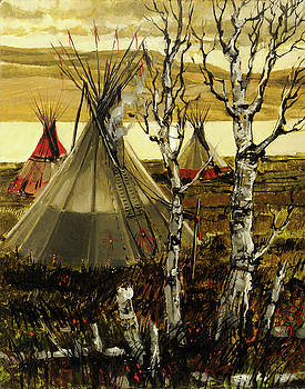 Fall Camp by Steve Spencer