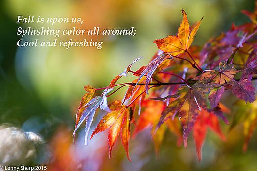 Leonard Sharp - Fall Color - Haiku