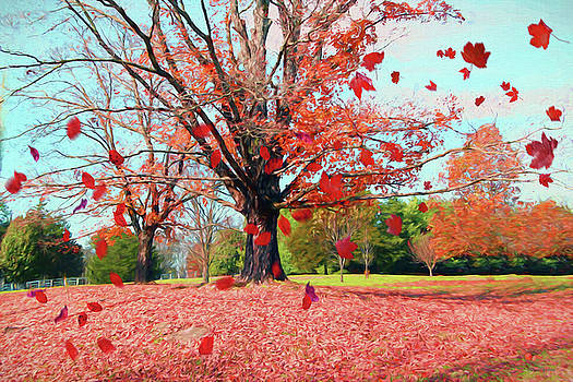 Fall Colors 479 - Painting by Ericamaxine Price