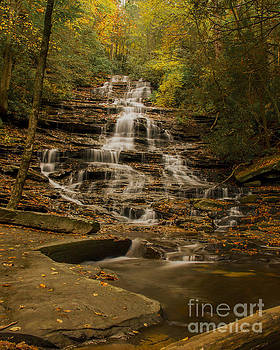 Barbara Bowen - Fall colors at Minnehaha Falls