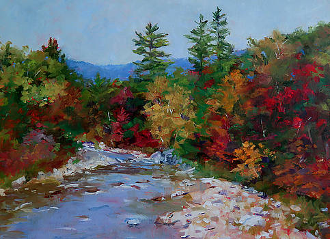 Fall Colors, New England by Carol Hopper