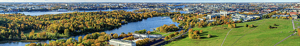 Fall colors over Stockholm by Dejan Kostic