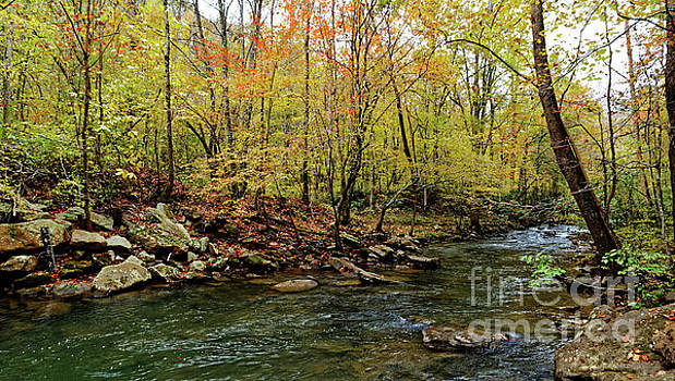 Fall Comes To Clifty Creek by Paul Mashburn