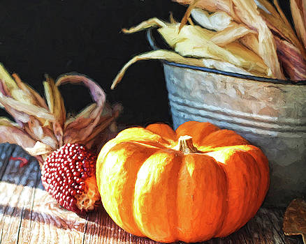 Fall corn by Terri Tiffany