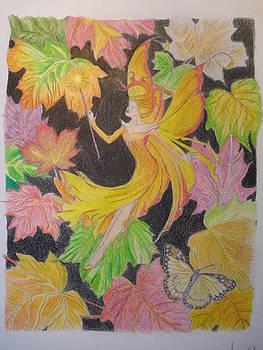 Fall Fairy by Tonya Hoffe