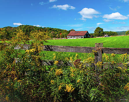 Fall Farm by Rebecca Hiatt