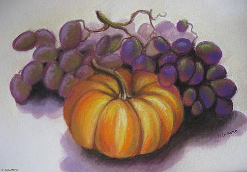 Fall Harvest by Brenda Salamone